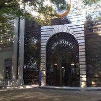 """Photo taken at Biblioteca - """"El Rey"""" by Hector L. on 3/16/2012"""