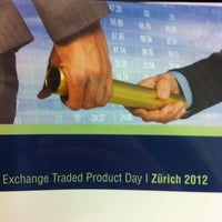 Photo taken at SIX Swiss Exchange by Walter S. on 4/12/2012