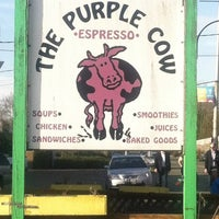 Photo taken at The Purple Cow by Michelle V. on 3/25/2012
