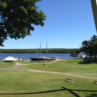 Photo taken at Maine Maritime Museum by Ted v. on 9/1/2012