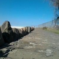 Photo taken at Kamienie przy falochronie by Łukasz M. on 5/2/2012