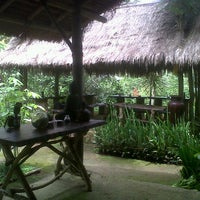 Photo taken at Kubu Bali Agro Tourism by Goddes P. on 3/1/2012