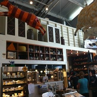 Photo taken at Oxbow Wine Merchant & Wine Bar by lisa g. on 5/15/2012