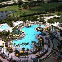 Photo taken at Orlando World Center Marriott by Brian S. on 5/26/2012