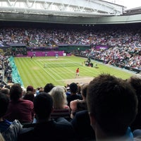 Photo taken at Centre Court by Arthur G. on 8/3/2012