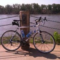 Photo taken at N P Dodge Park Marina by Nick H. on 6/10/2012