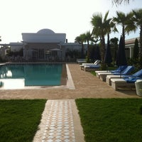 Photo taken at Le Mirage Hotel, Tanger by Salma B. on 7/8/2012