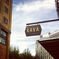 Photo taken at Kava Cafe by Benny W. on 4/28/2012
