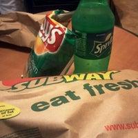 Photo taken at Subway by AJ B. on 3/23/2012