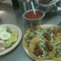 Photo taken at Taqueria El Paisa by leonardo c. on 3/15/2012
