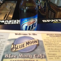 Photo taken at Blue Moon Cafe & Pub by Tom on 7/21/2012