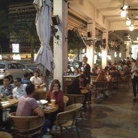 Photo taken at Brasserie M&R by Eyal G. on 5/25/2012