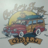Photo taken at Cowboy Surfer Grill by Robert T. on 3/24/2012