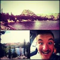 Photo taken at Crystal Lake by Justin R. on 8/4/2012