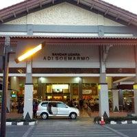 Photo taken at Adi Soemarmo International Airport (SOC) by Agung X. on 9/2/2012