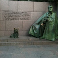 Photo taken at Franklin Delano Roosevelt Memorial by Denise S. on 7/26/2012