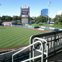 Photo taken at Raley Field by George O. on 6/20/2012