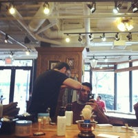 Photo taken at Tweed Barbers of Boston by Manolo on 7/31/2012