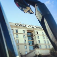 Photo taken at Cosmo Hotel Palace by jiazi on 9/13/2012
