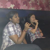 Photo taken at Green Box Karaoke by Tan W. on 4/1/2012