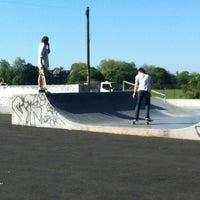 Photo taken at Clapham Skate Park by Sonali F. on 5/26/2012