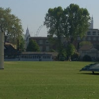 Photo taken at Vincent Square Playing Fields by Jon H. on 5/30/2012