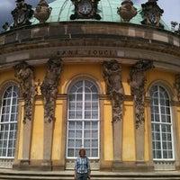Photo taken at Schloss Sanssouci by Selene D. on 6/10/2012