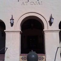 Photo taken at Oaks at Ojai by Jay B. on 1/7/2012