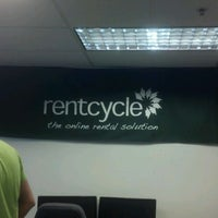 Photo taken at Rentcycle HQ by Anni Y. on 4/28/2012