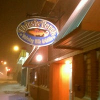 Photo taken at Thirsty Perch Fish & Oyster House by dj s. on 1/3/2012