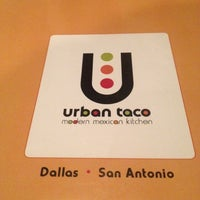 Photo taken at Urban Taco by Yesi D. on 6/10/2012