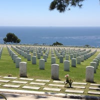 Photo taken at Fort Rosecrans National Cemetery by Rosalie G. on 7/26/2012