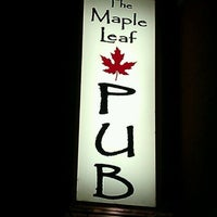Photo taken at The Maple Leaf Pub by Tierney F. on 9/6/2011