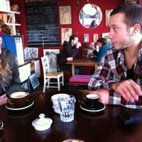 Photo taken at Memphis Belle Coffee House by Christian D. on 4/23/2012