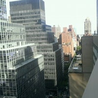 Photo taken at DoubleTree by Hilton Hotel Metropolitan - New York City by Leslie G. on 9/17/2011