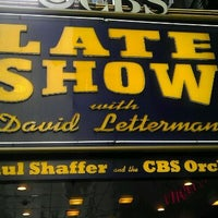Photo taken at Ed Sullivan Theater by Bryce B. on 1/31/2012