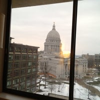Photo taken at The Madison Concourse Hotel and Governor's Club by Dave O. on 1/16/2012