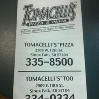 Photo taken at Tomacelli's Too by Justin L. on 1/7/2012