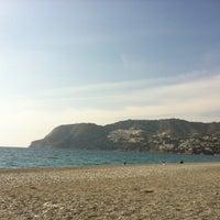 Photo taken at La Herradura Beach by Raquel M. on 3/17/2012