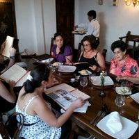 Photo taken at José Antonio Restaurante by Sergio I. on 1/8/2012