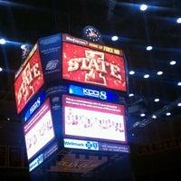 Photo taken at James H. Hilton Coliseum by Alex L. on 1/19/2012