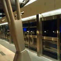 Photo taken at CityCenter Tram (Bellagio) by Jeremy D. on 12/11/2011