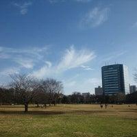 Photo taken at Kiba Park by Shin S. on 1/1/2011