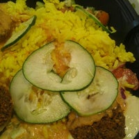 Photo taken at I Dream of Falafel by Theresa D. on 8/16/2012
