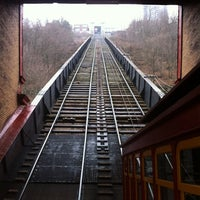 Photo taken at Duquesne Incline by Amanda G. on 1/26/2012