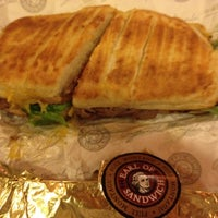 Photo taken at Earl of Sandwich by Danny P. on 1/12/2012