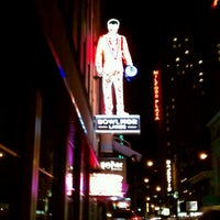 Photo taken at Bowlmor Times Square by Kirk T. on 8/24/2011