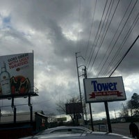Photo taken at Tower Liquors by Joe #. on 1/9/2012