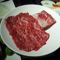 Photo taken at Gen Korean BBQ House by Andrew K. on 10/23/2011