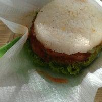 Photo taken at VietMac Riceburger by Pig on 11/18/2011